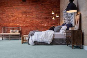 Brick wall design of bedroom | Dalton Wholesale Floors