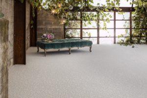Bench on Carpet floor | Dalton Wholesale Floors
