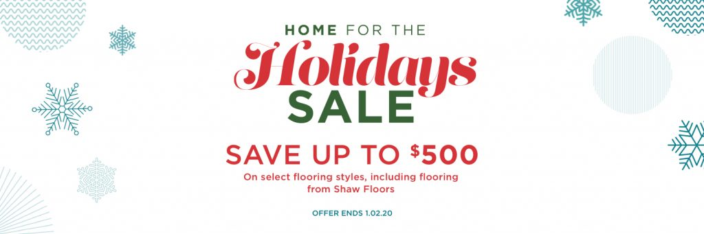 Home for the holidays sale | Dalton Wholesale Floors