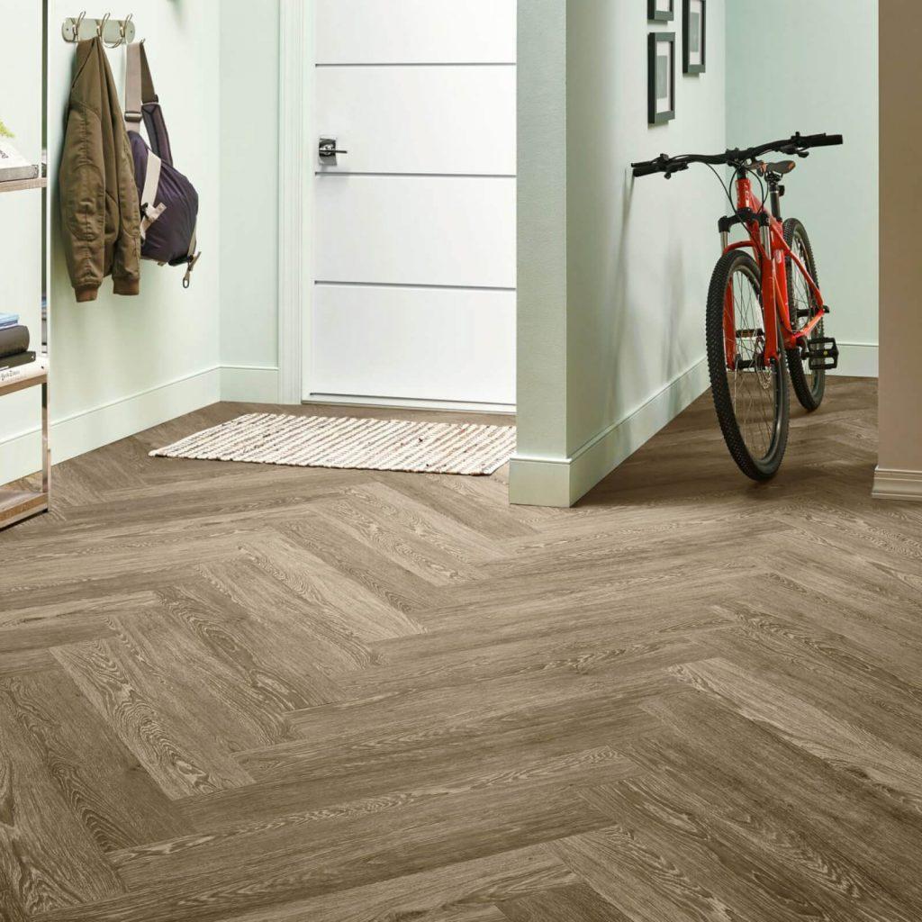 Bicycle on flooring | Dalton Wholesale Floors