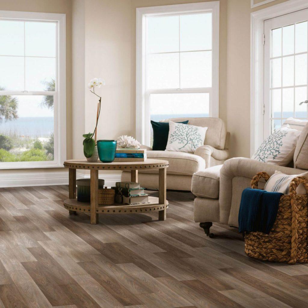 Living room view | Dalton Wholesale Floors