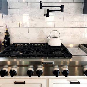 Kitchen cooktop flooring | Dalton Wholesale Floors