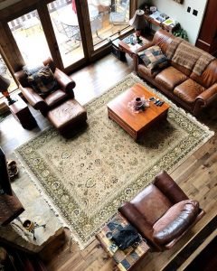 Modern living room rug | Dalton Wholesale Floors