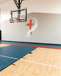 Basketball court flooring | Dalton Wholesale Floors
