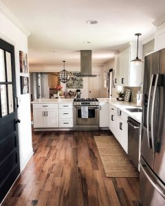 White cabinets | Dalton Wholesale Floors