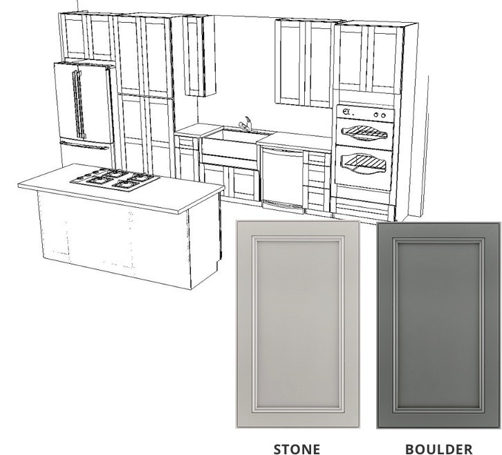 Kitchen Cabinet and Island Giveaway